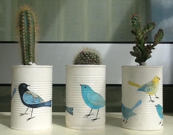 decoupage-tin-can-planters-5