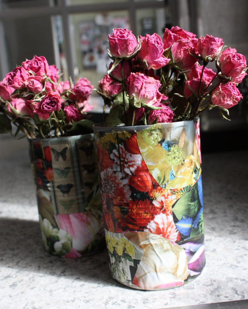 decoupage-tin-can-planters-7