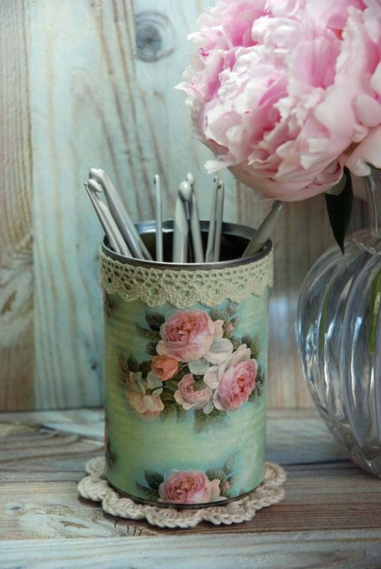 decoupage-tin-can-planters-9