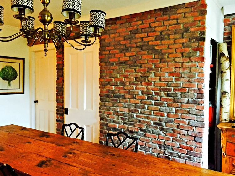 Top diy brick walls just craft diy projects for Diy brick projects