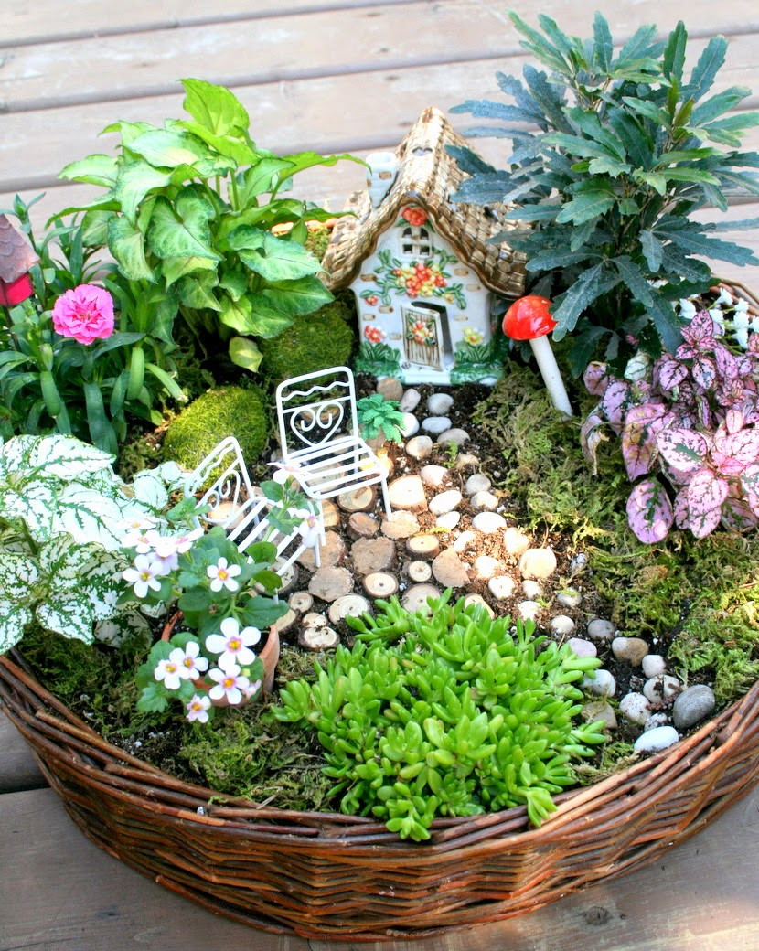10 Magical DIY Fairy Garden Ideas - Just Craft & DIY Projects