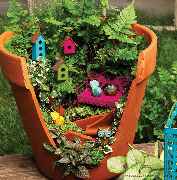 10 Magical DIY Fairy Garden Ideas