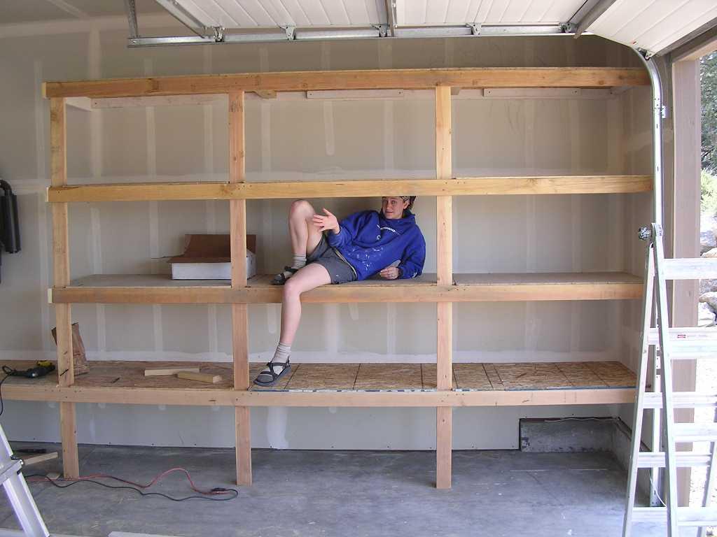 Diy Garage Shelves For Your Inspiration Just Craft Amp Diy