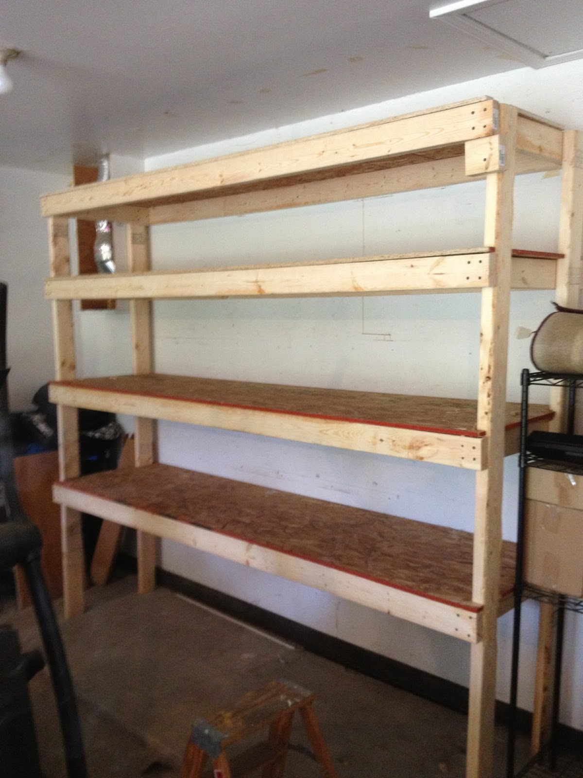 Diy Garage Shelves For Your Inspiration