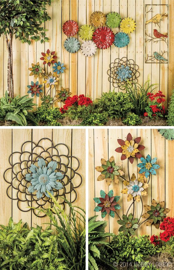 Top Notch Diy Living Fence Art Just Craft Diy Projects