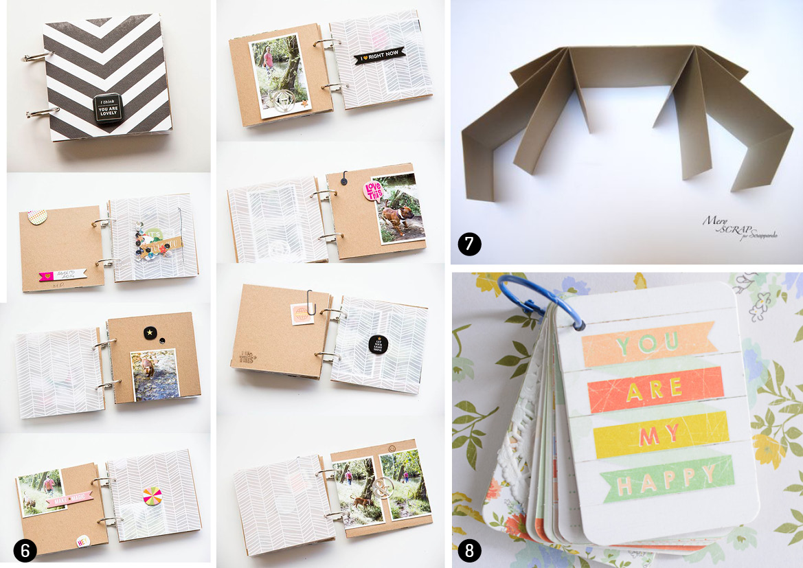 great diy photo album ideas just craft diy projects