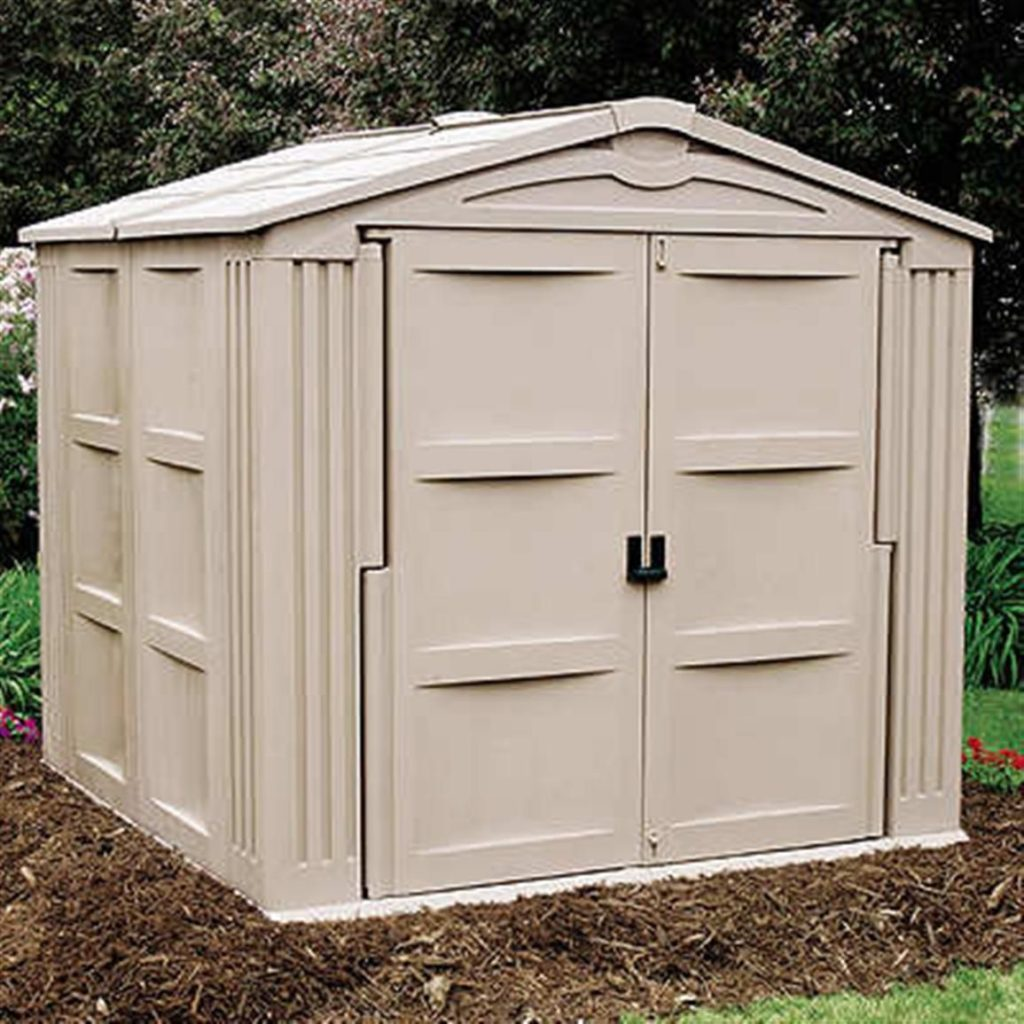 Easy diy storage shed ideas just craft diy projects for Building a storage shed