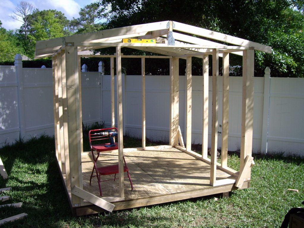 How to build a simple shed ramp for Building a storage shed