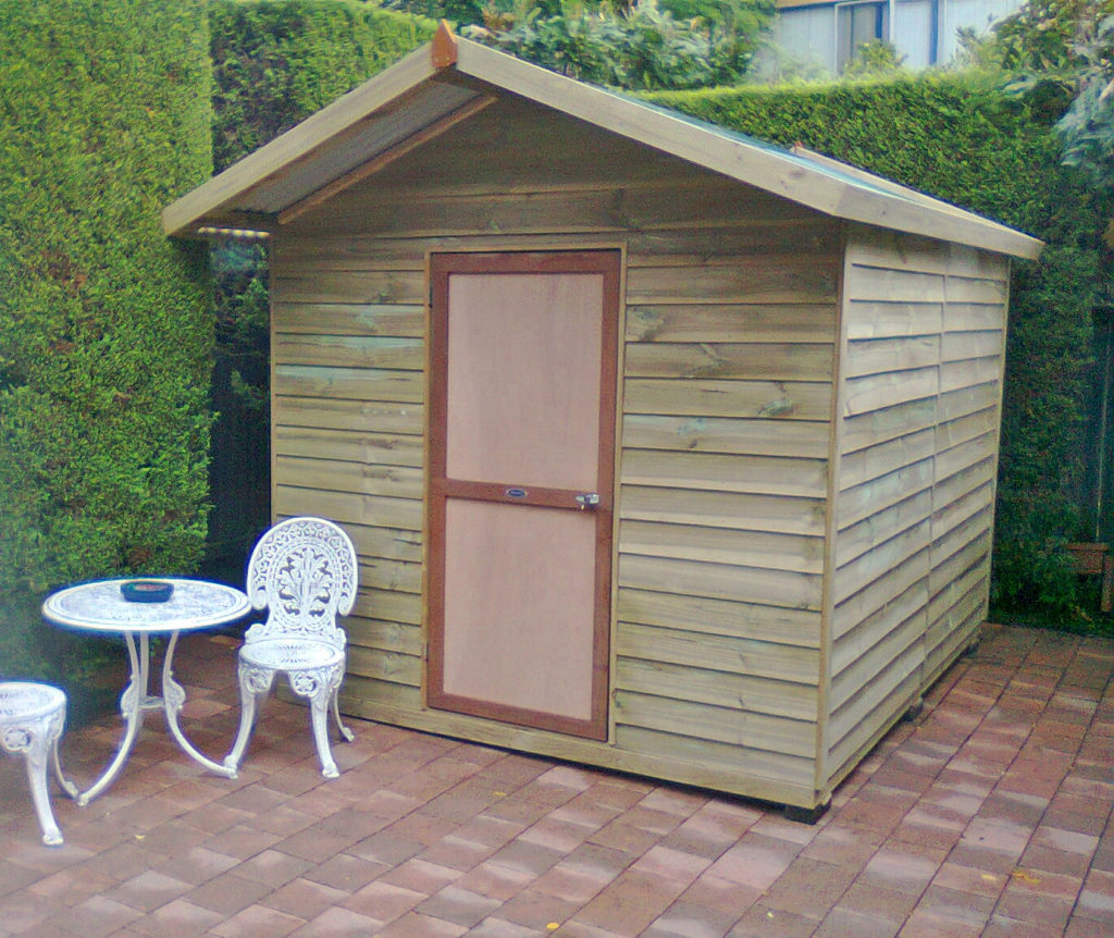 Easy diy storage shed ideas just craft diy projects for Diy garden shed