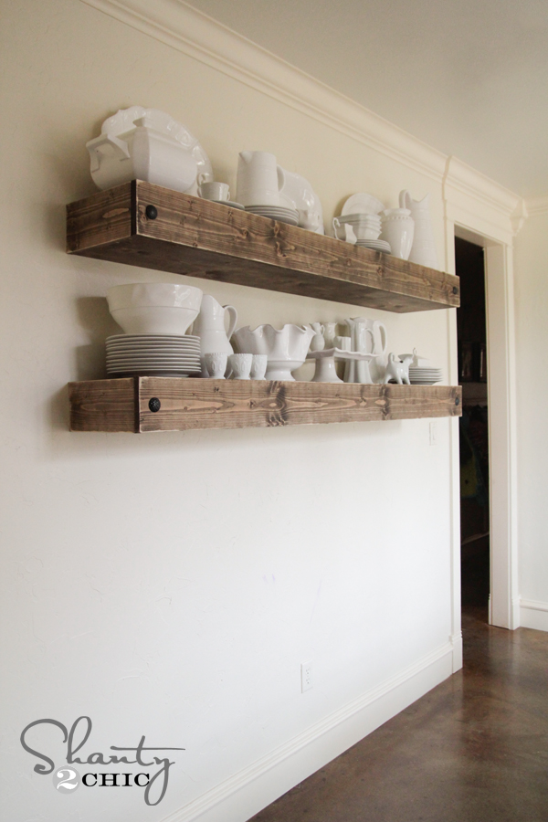 Top Floating Shelves Diy Projects Just Craft Amp Diy