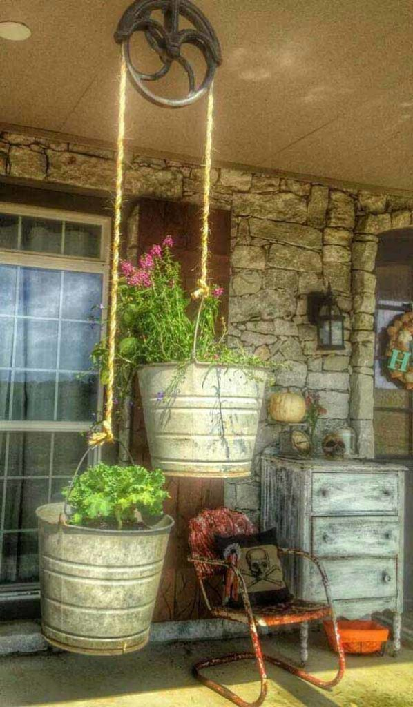Ideas How To Reuse Galvanized Buckets
